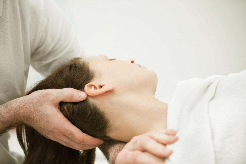 tratamiento osteopatía craneosacral